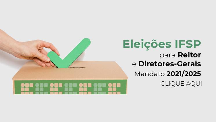 Processo eleitoral para reitor e diretores-gerais